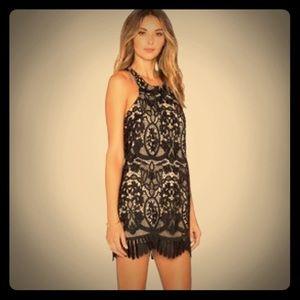 Lovers + Friends *Caspian Dress* in black size S
